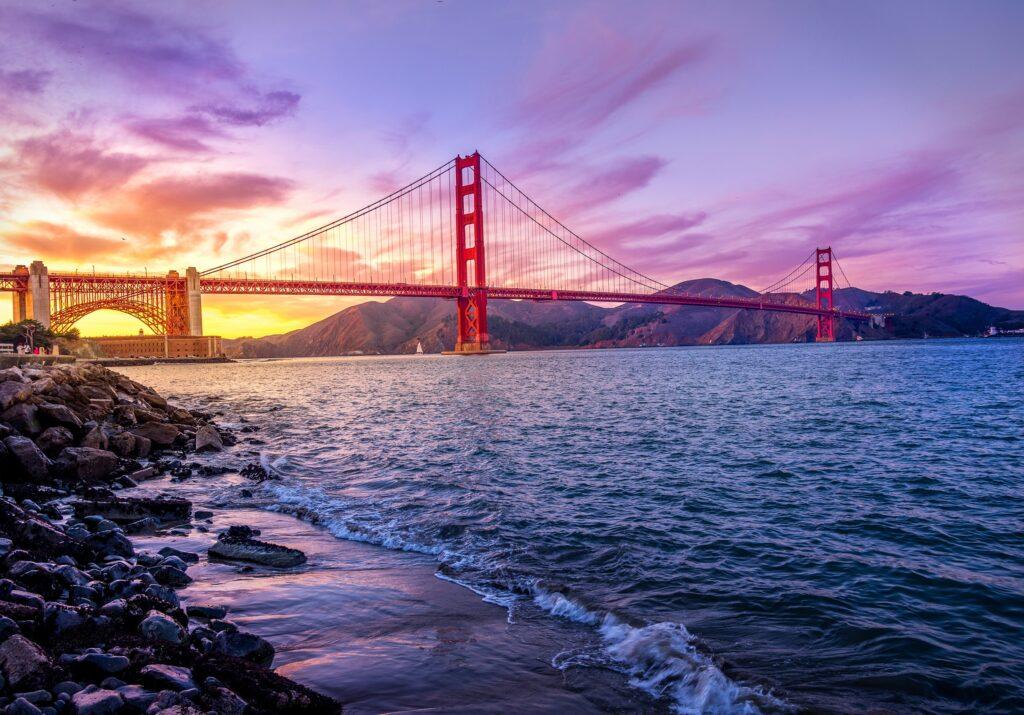 iconic bridge in the US