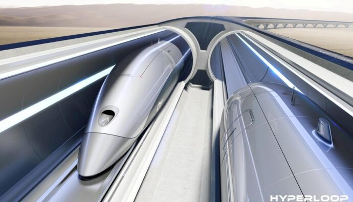 hyperloop schematic